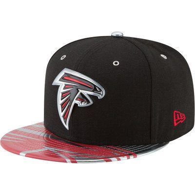 e72d7528e0a Atlanta Falcons New Era NFL Spotlight 59FIFTY Fitted Hat - Black ...