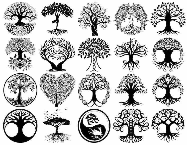 tatouage arbre de vie modeles