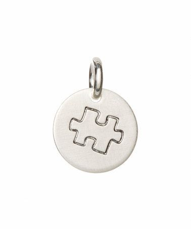 Another great find on #zulily! Sterling Silver Autism Awareness Charm #zulilyfinds