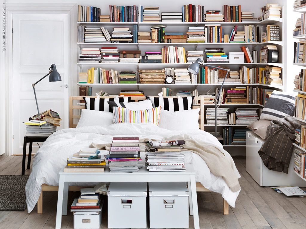 Schlafzimmerfarben Apparttodream We Love Books Small Space Appartment
