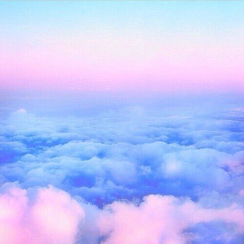 Image Via We Heart It Beautiful Blue Clouds Cute