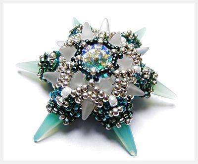 Chelseaspearls: Little Aztec Star
