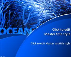 Free Ocean Powerpoint Template  Cool Powerpoint Templates