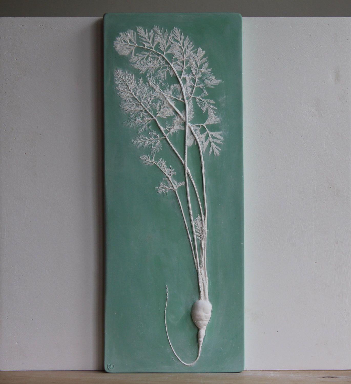 Long carrot in concrete estate com pinterest plaster cast