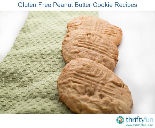 This page contains gluten free peanut butter cookie recipes. Eating a gluten free diet does not mean that you can never have a peanut butter cookie again.