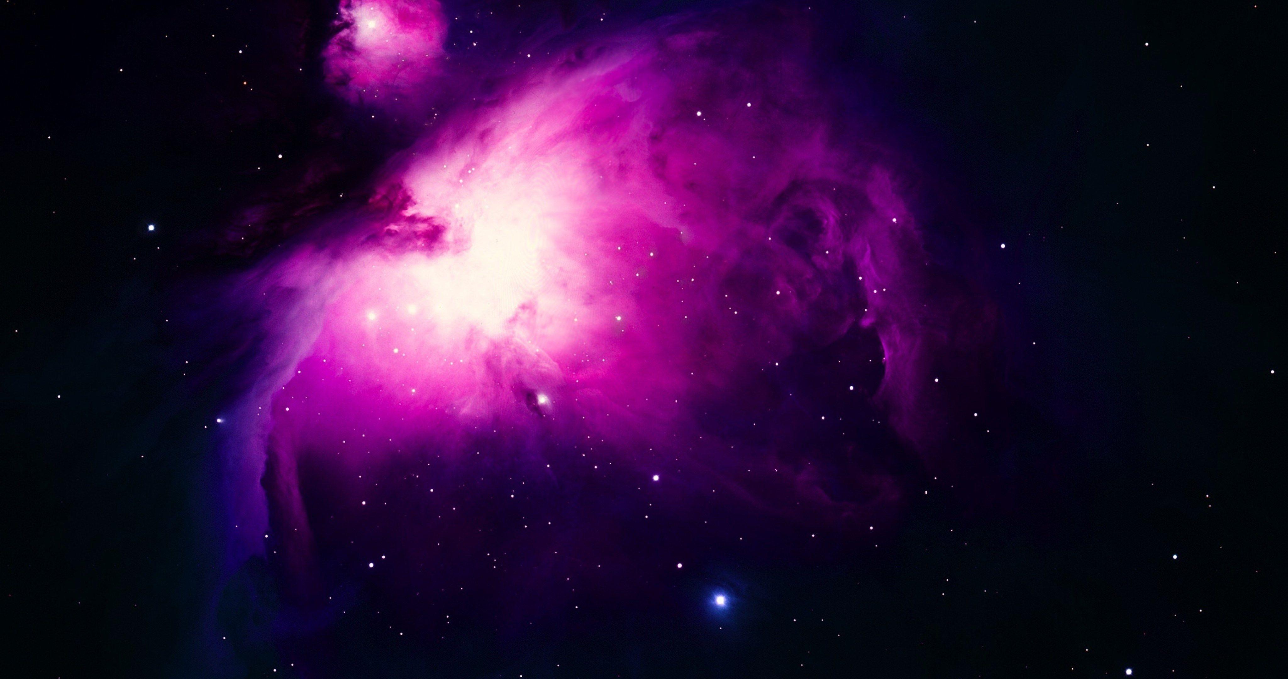 Violet Nebula Space 4k Ultra Hd Wallpaper