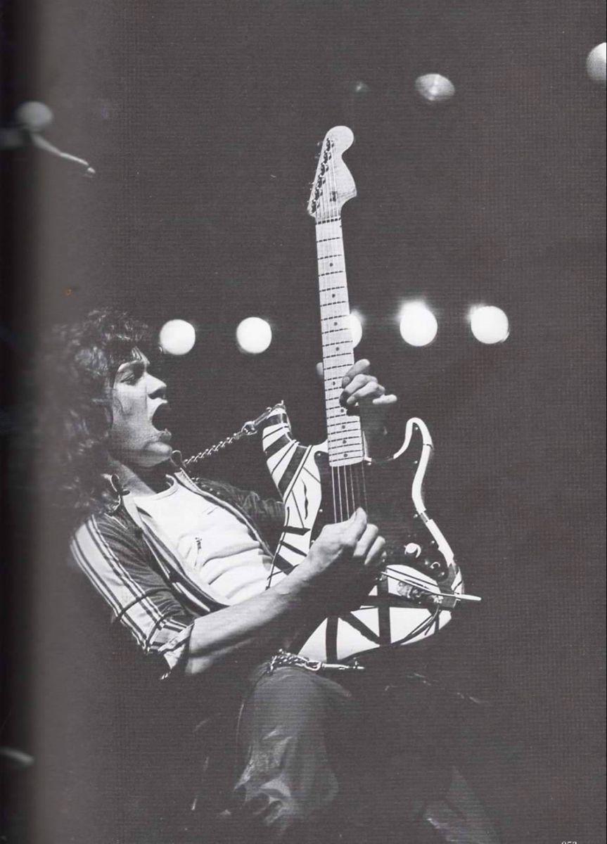 Pin By Smitty Werbenjagermanjensen St On Van Halen In 2020 Eddie Van Halen 80s Rock Van Halen