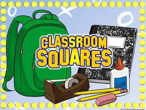 "Classroom Squares"" Plays Like ""Hollywood Squares""! Create Your Own"