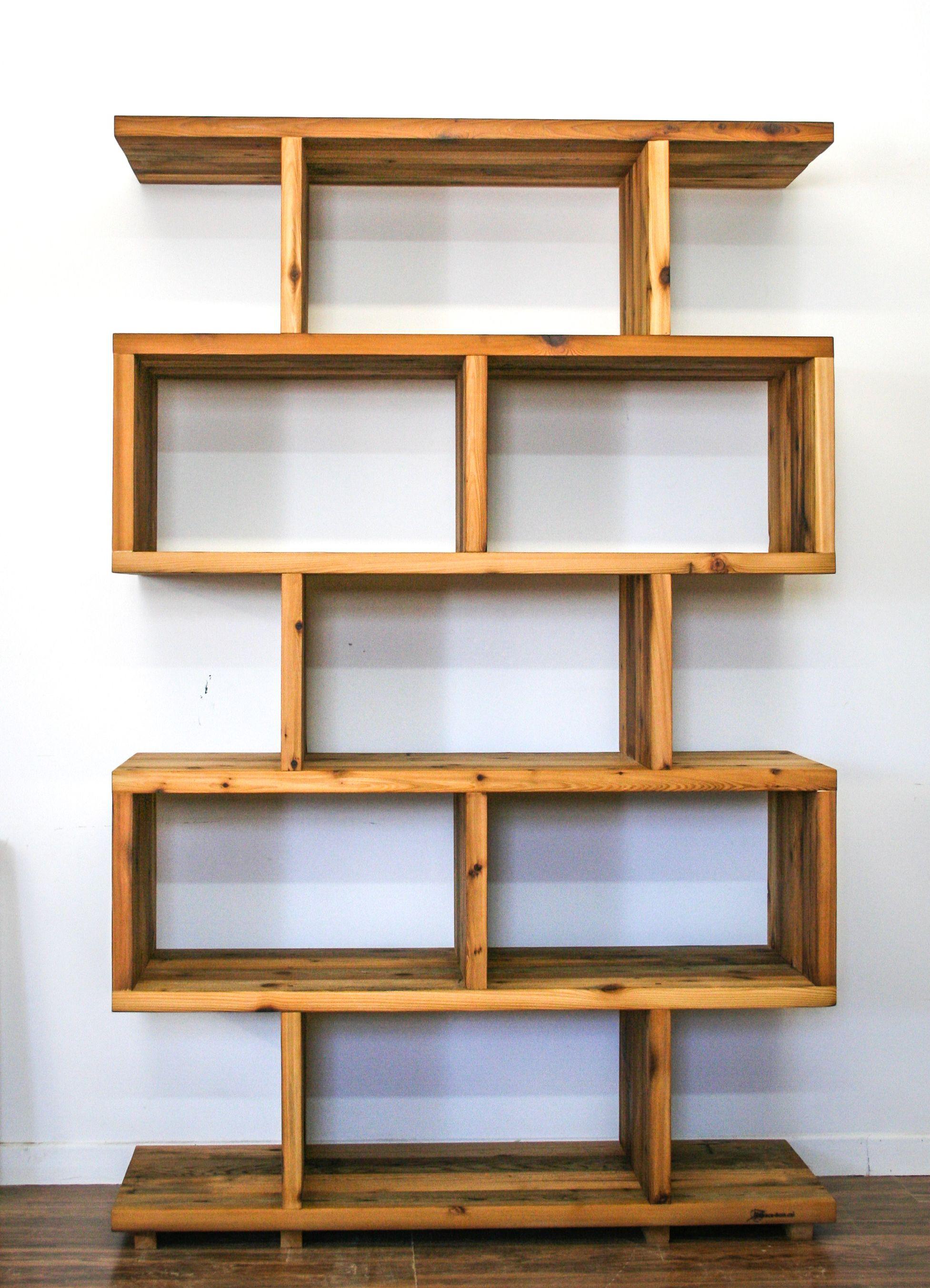 Bibliotheque Caisson En Bois De Grange Decor Home Decor Diy Furniture