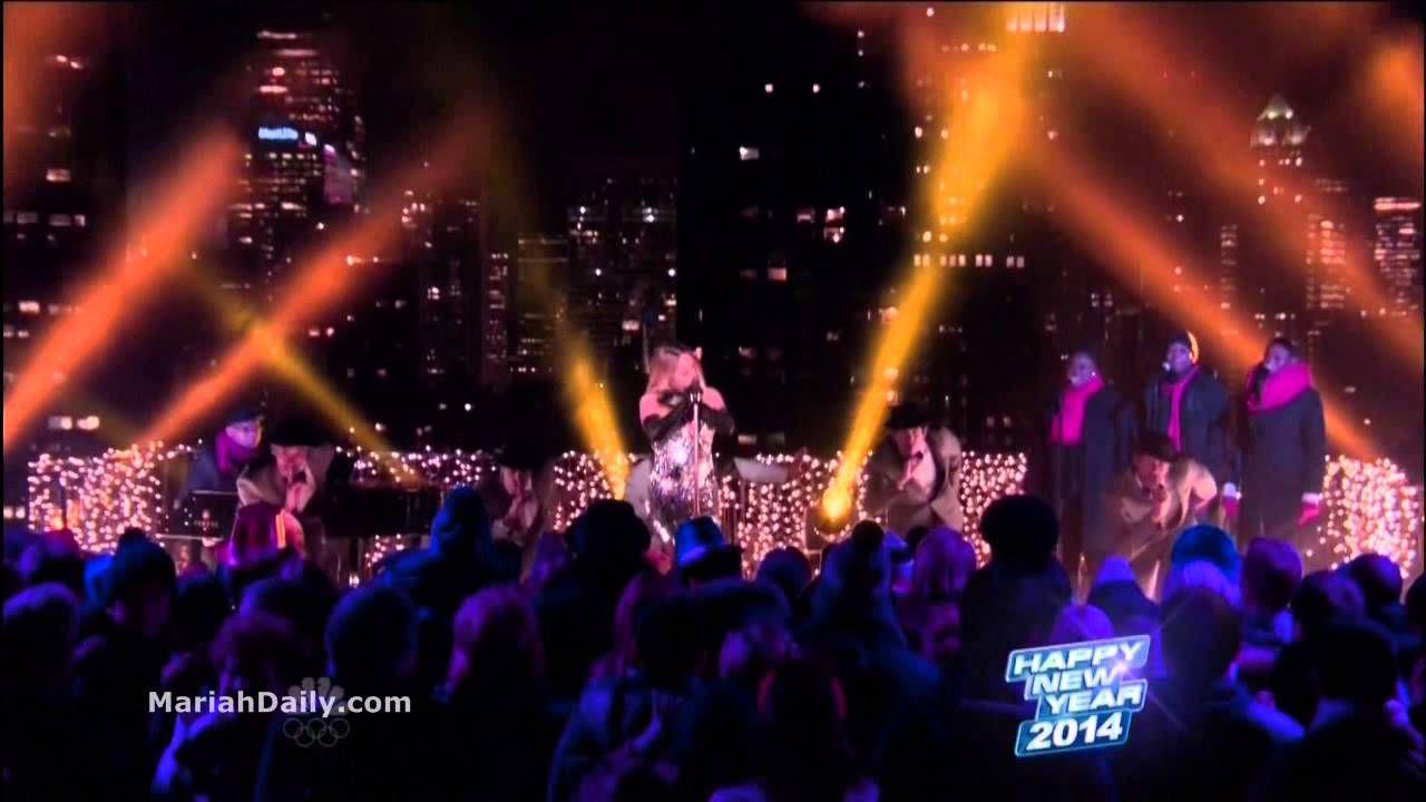 Mariah Carey Medley of Hits New Year's Eve Mariah