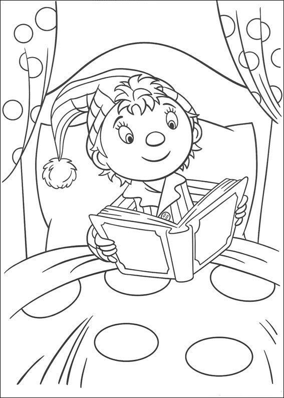 Noddy Coloring Pages 90 Coloriage Dessin Livre De Couleur