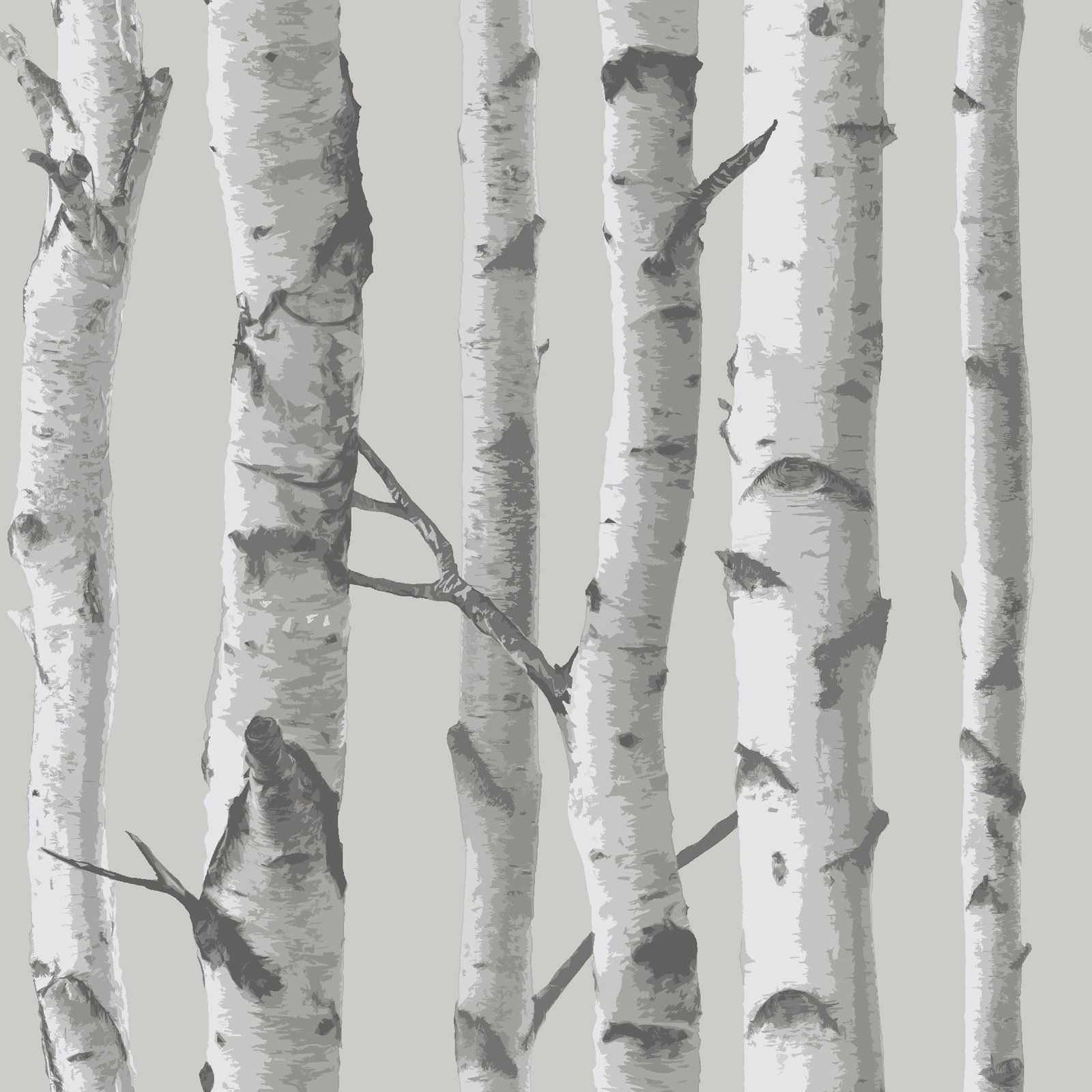 NuWallpaper Mountain Birch Peel and Stick Wallpaper