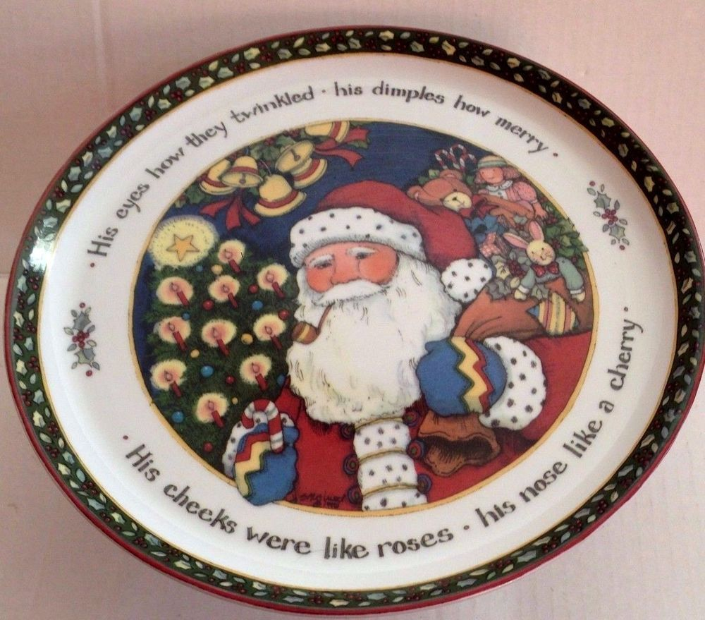 International China Susan Winget A Christmas Story cake plate ...