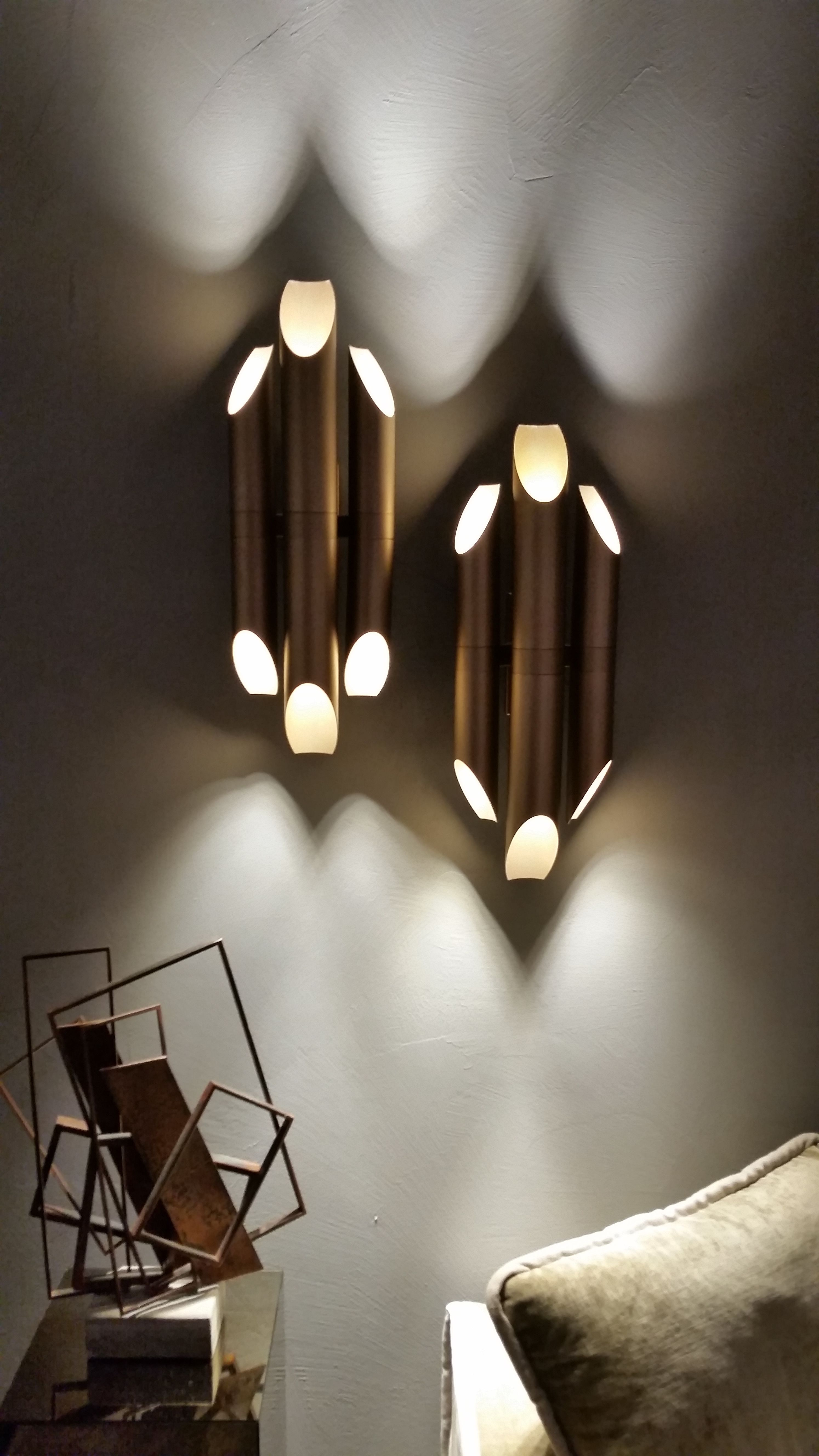 Casamilano tube lights salone del mobile milan design week 2016 decorum times interiors and luxury design blog