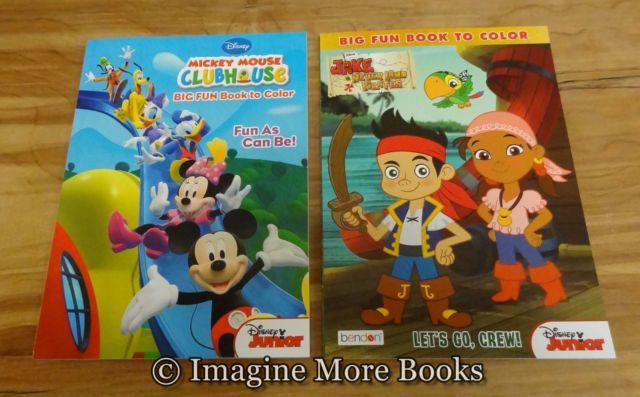 Image Result For Disney Junior Coloring Book Big Fun