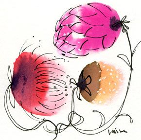 Flowers by Lovisa Oliv