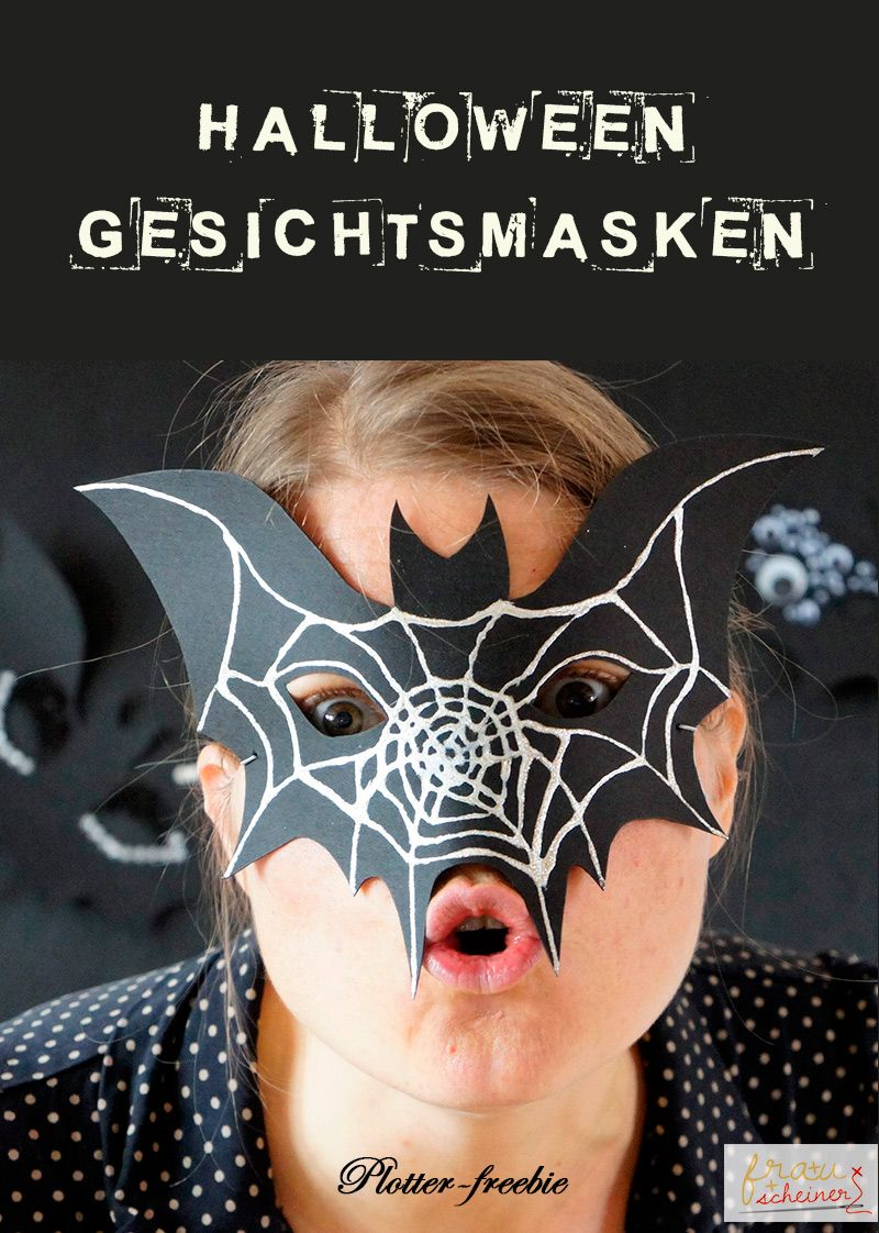 halloweenmaske plotter meine designs pinterest. Black Bedroom Furniture Sets. Home Design Ideas