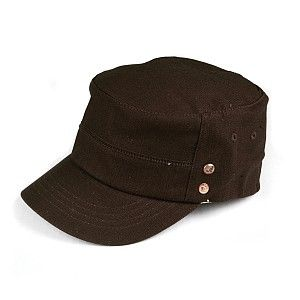 Kangol Military Rain Resistant Army Cap - Brown | Hat Game