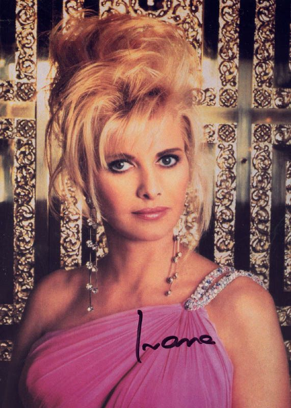 Czechoslovakian Beauty Ivana Marie Zelnockova Born In 1949 Met Donald Trump In