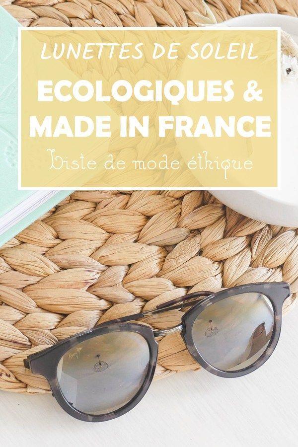 5 belles marques de lunettes de soleil éthiques pour homme