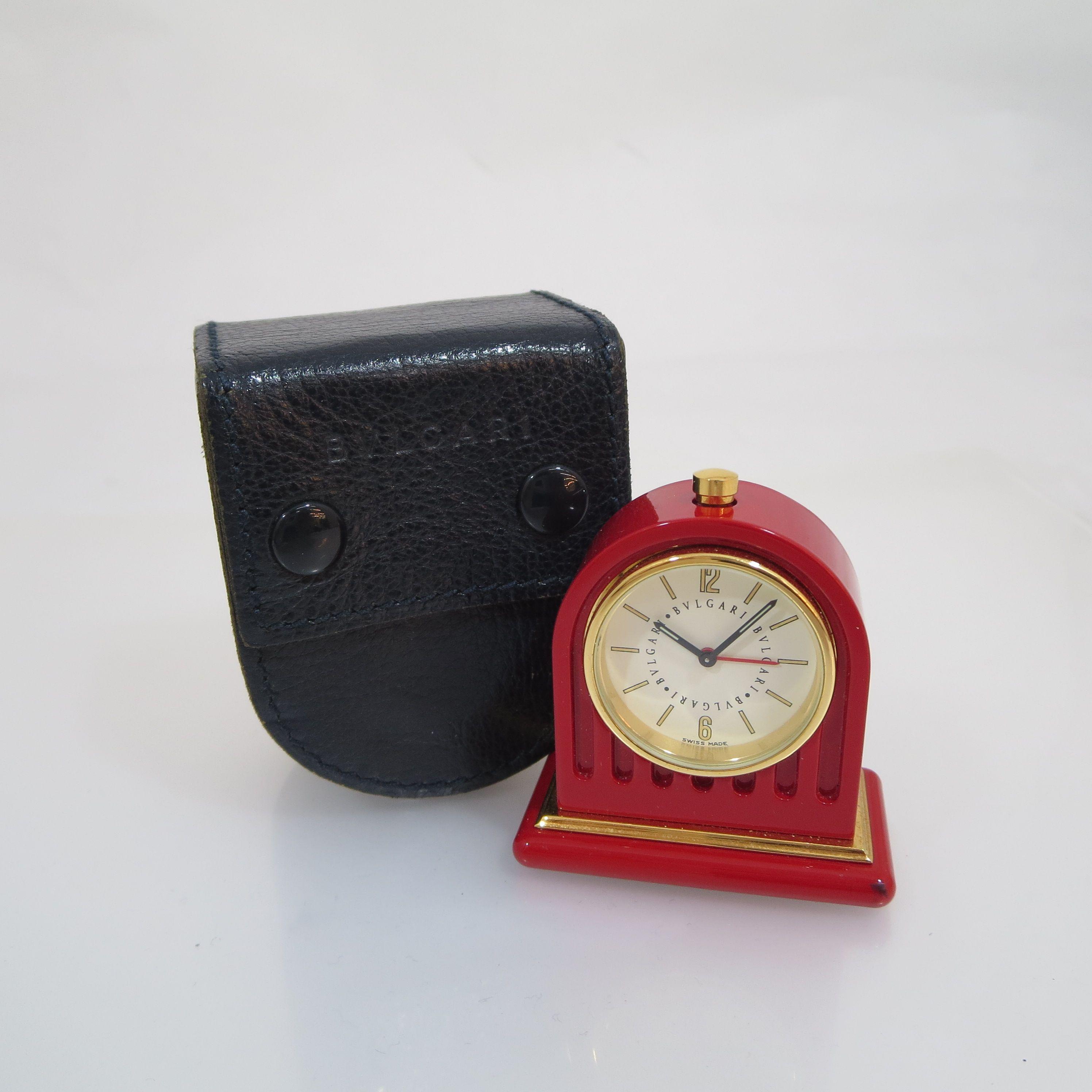 info for f4b60 cedc5 ブルガリ 置時計お買取させていただきました。エブリデイ ...