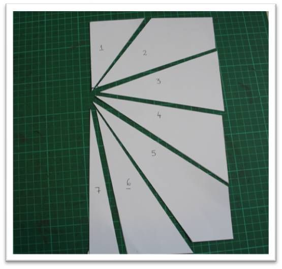 Bonus Tutorial 14 Creating Sunburst Layouts Let S Scrap Sunburst Cards Scrapbook Patterns Card Patterns