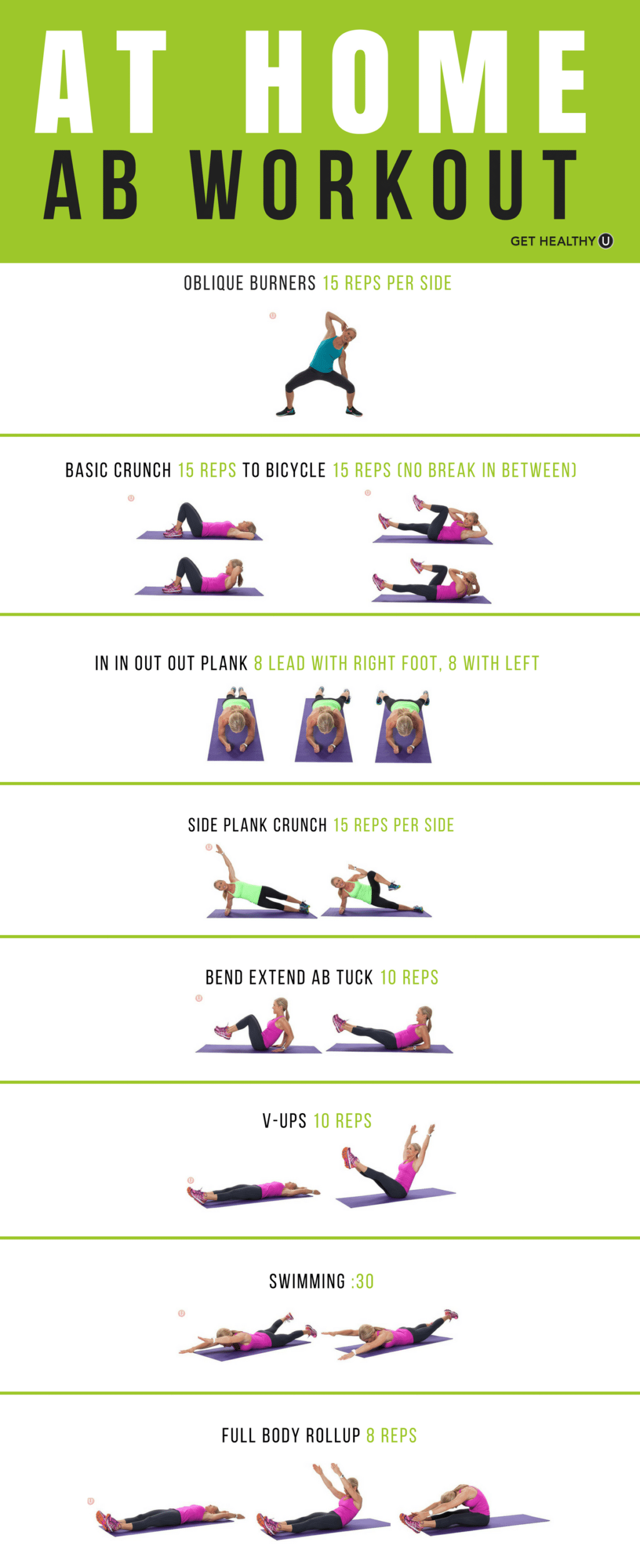 Your At-Home Ab Workout - Get Healthy U