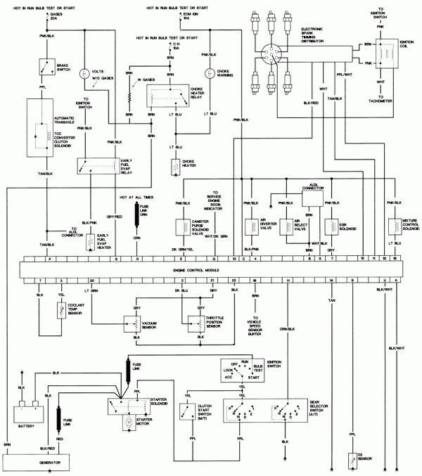 1986 Ford Ranger Engine Wiring Diagram and Austinthirdgen ...