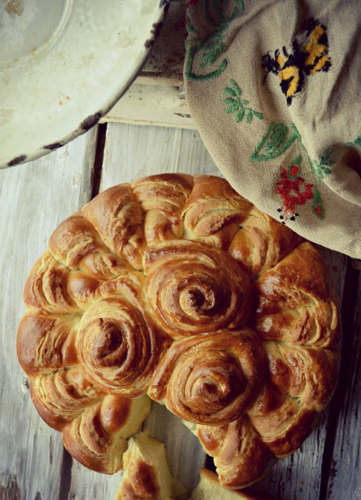 Serbian bread - looks extremely soft and chewy! A Kingdom for a cake: Daring Baker's Challenge