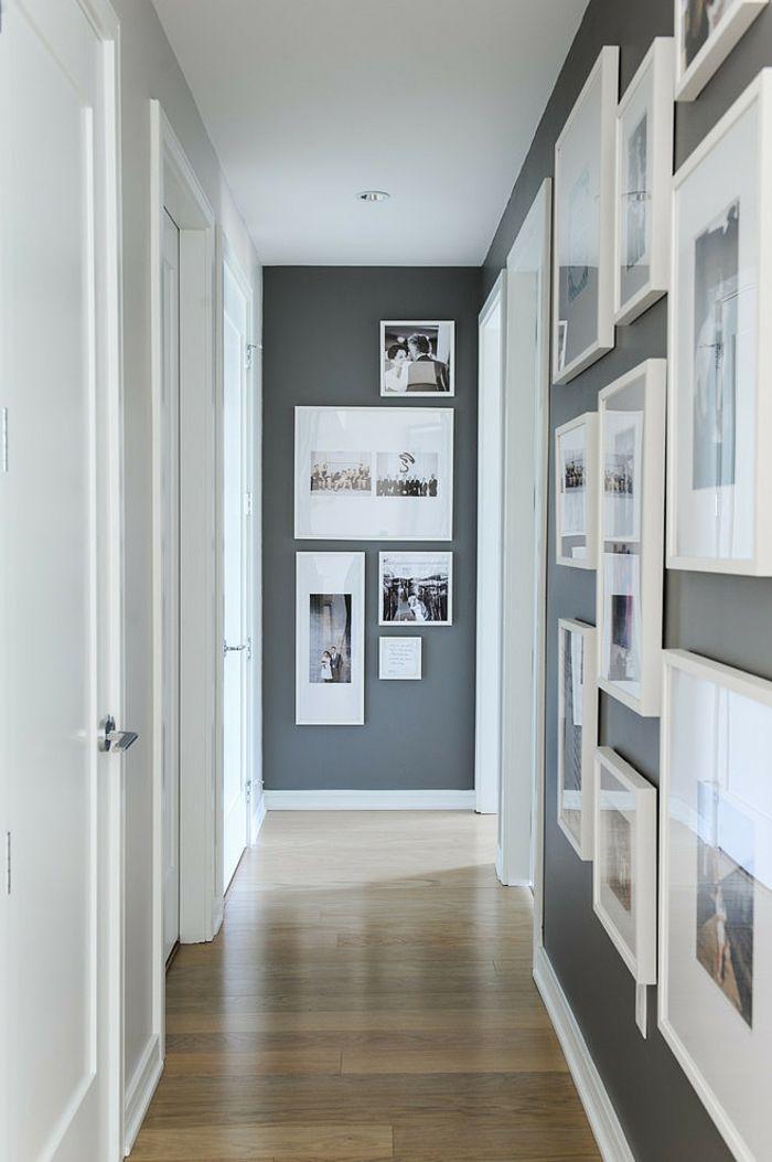 1001 conseils et id es pour arranger un mur de cadres parfait cadre photo blanc photo blanc. Black Bedroom Furniture Sets. Home Design Ideas