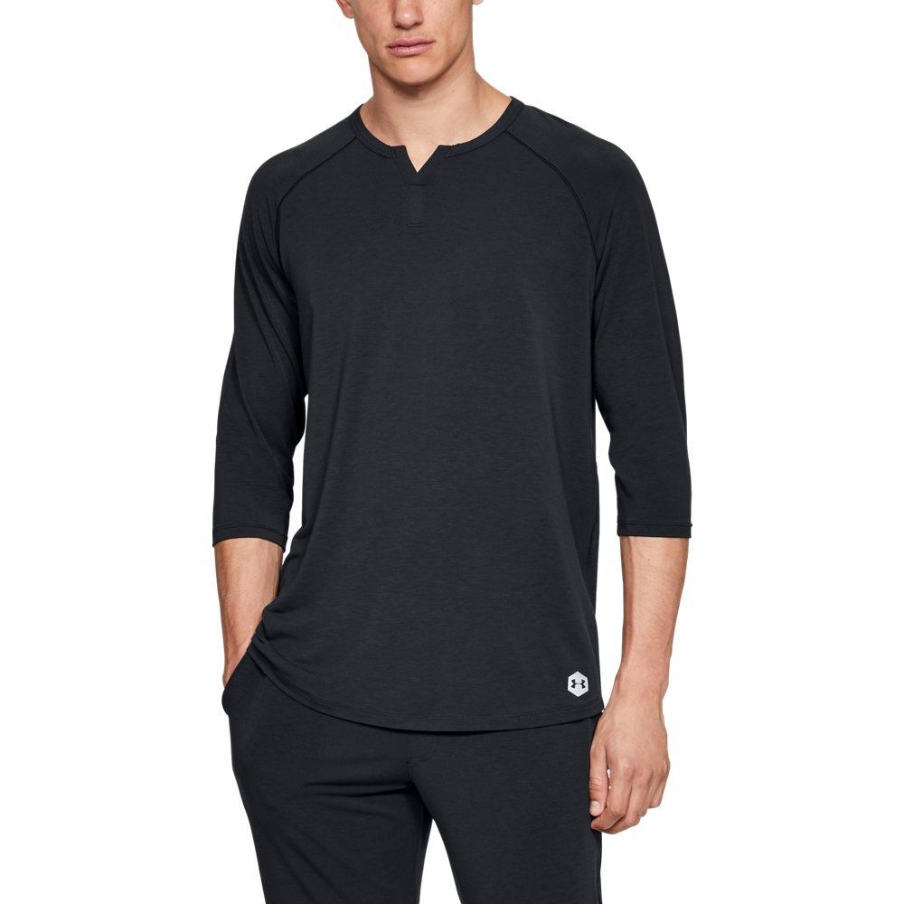 Photo of Men's UA RECOVER™ Sleepwear Henley Shirt | Under Armour US