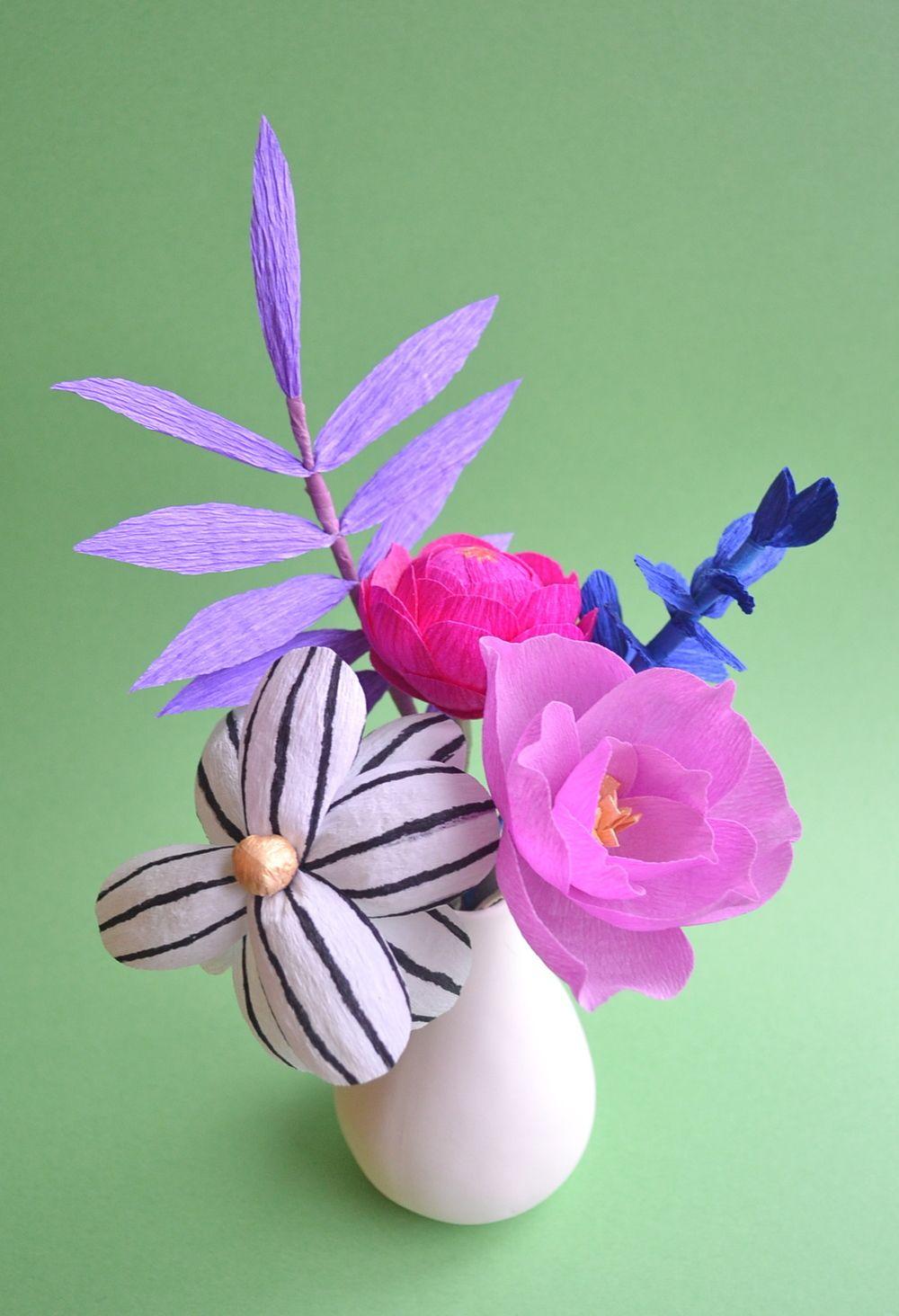 Handmade crepe paper flowers flowers paper pinterest crepe handmade crepe paper flowers mightylinksfo