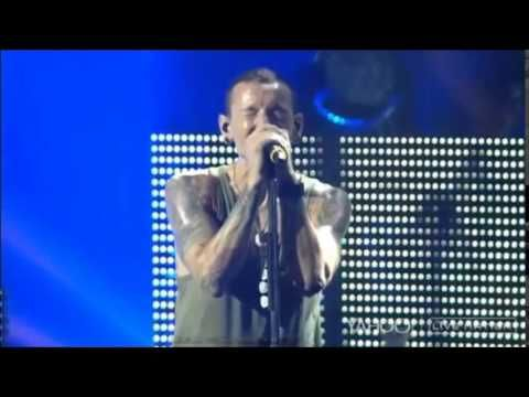 Linkin Park Performing Ballad Medley of Leave out all the Rest, Shadow of the Day and Iridescent in Camden, NJ 8/15/14