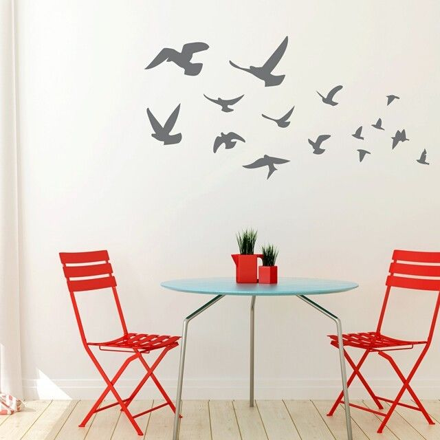 Fly Away Wall decals and Walls