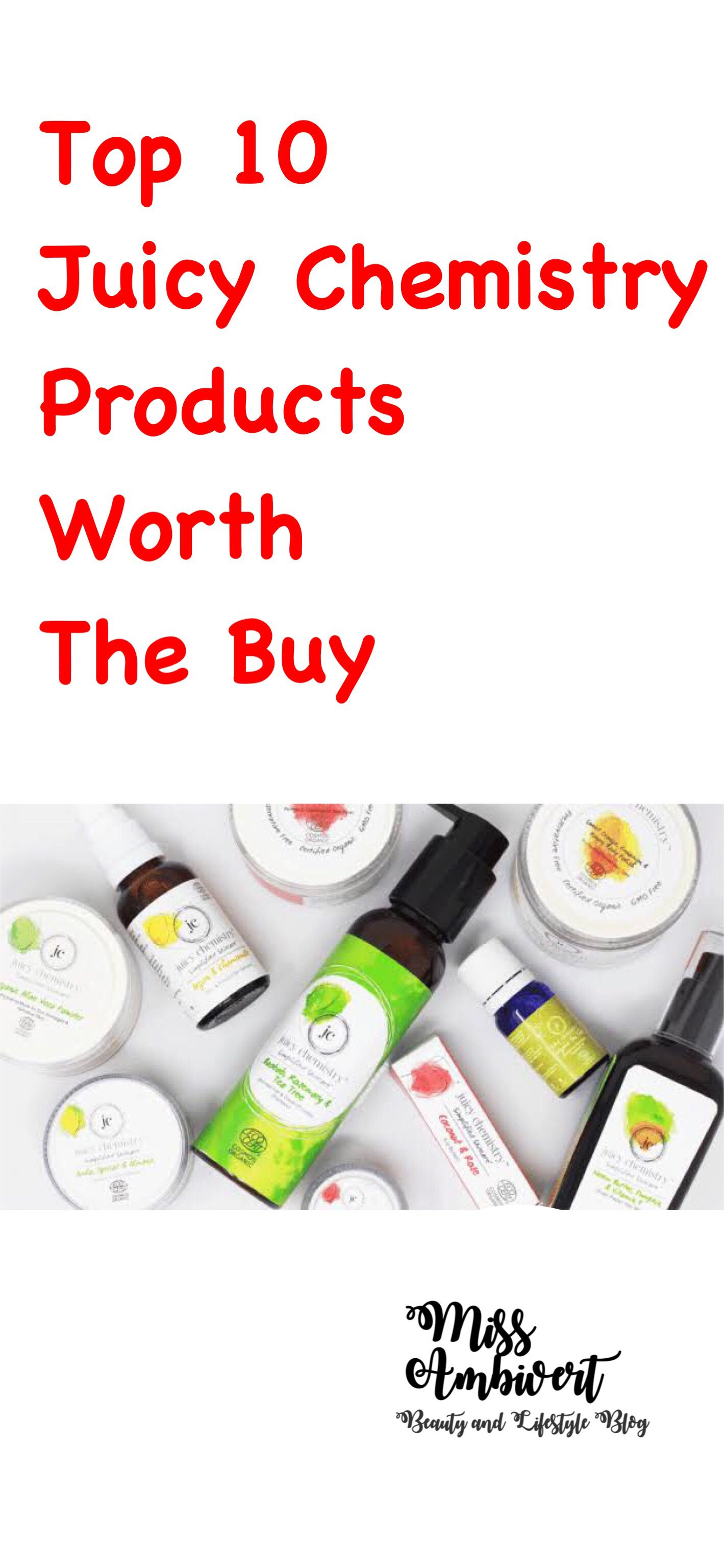 Top 10 Juicy Chemistry Products Worth The Buy! Miss