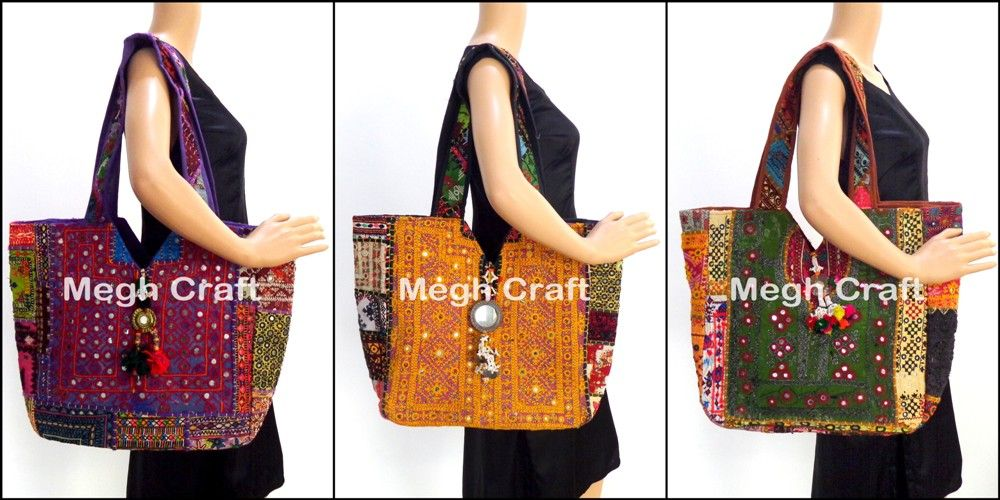 6307913e04 indian mirror work hand embroidery bags Embroidery Mirror Work Fancy Bag  Ethnic hand bag rajasthani women