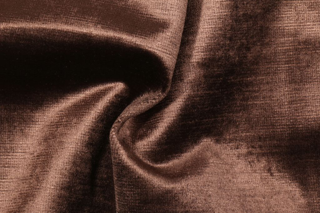 Robert Allen Savoy Velvet Upholstery Fabric In Chocolate 11 95 Per