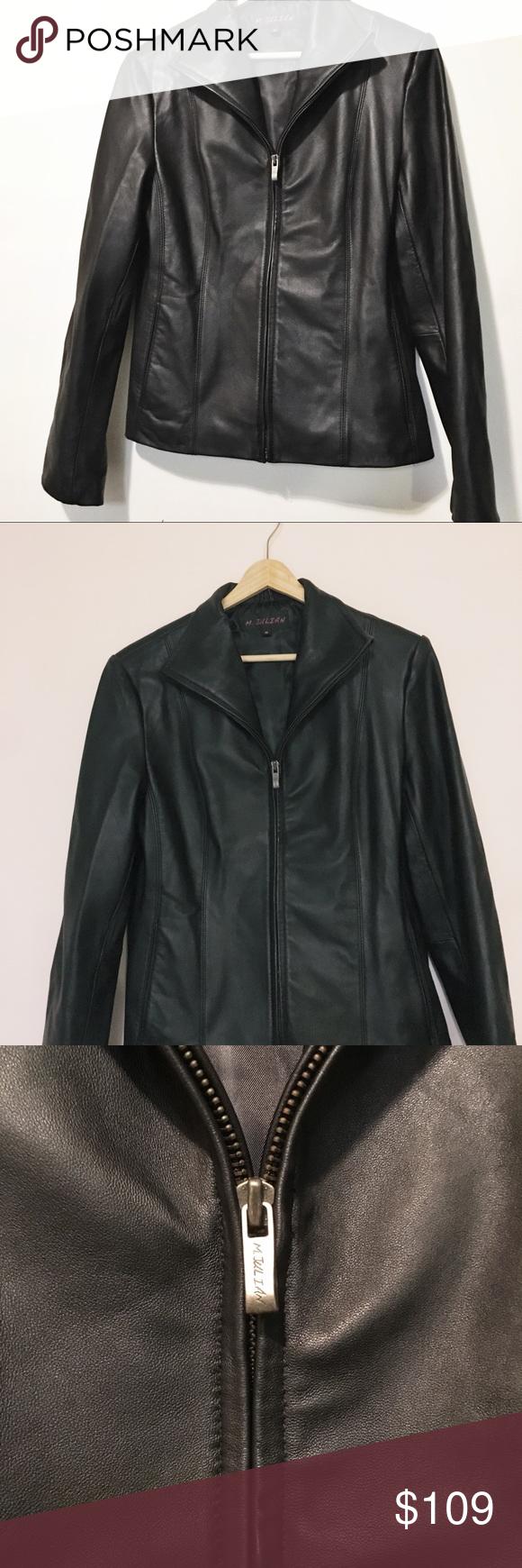 M. Julian Leather Jacket NWOT M. Julian Leather Jacket