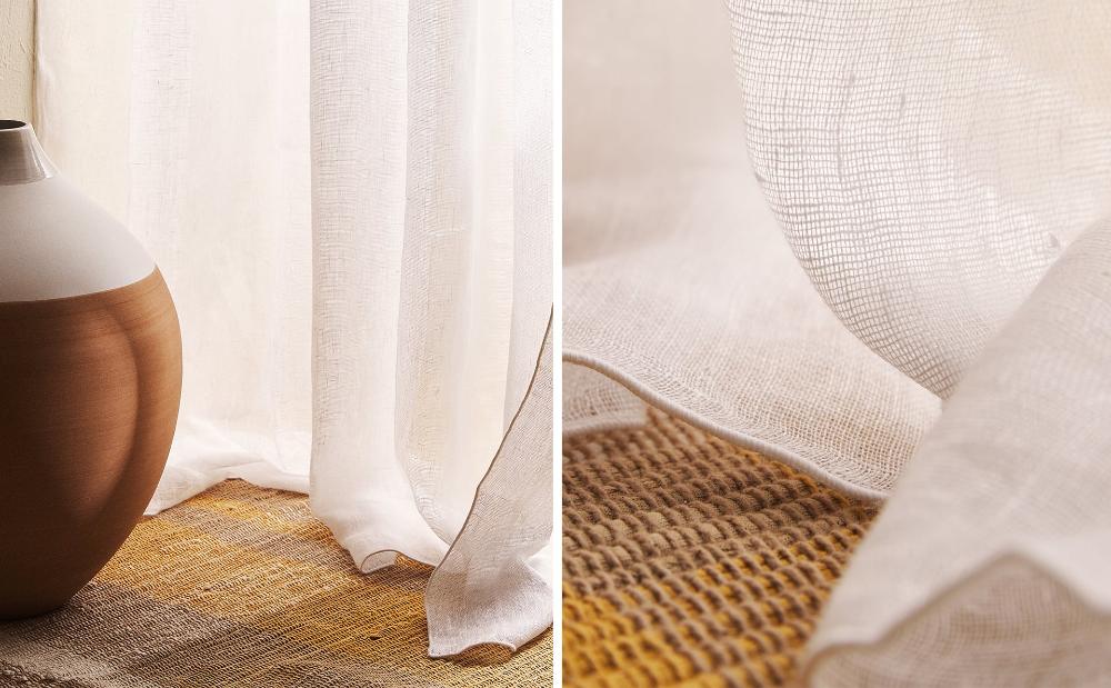 Immagine del prodotto TENDA IN LINO   Tende di lino, Tende ...
