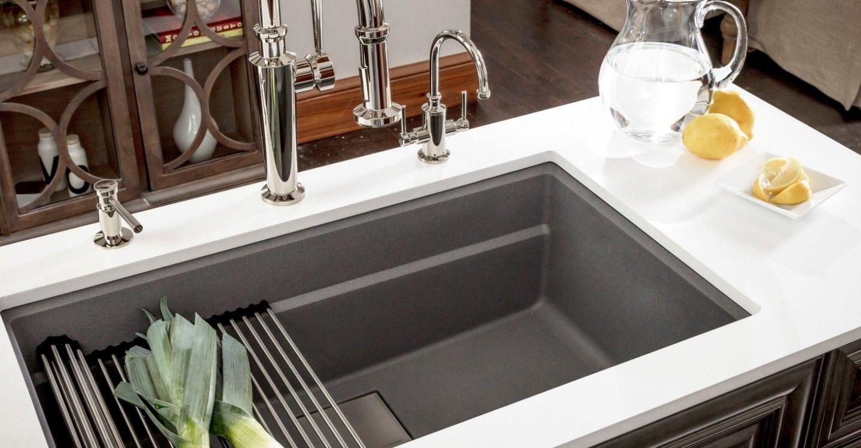granite franke kitchen systems single bowl under mount ledge sink rh pinterest com