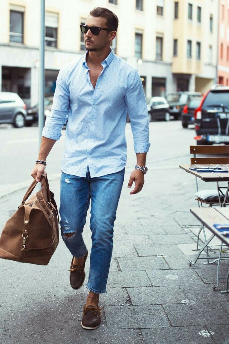 Nice Style Clothing Fashion Mens Fashion Boat Shoes Outfit