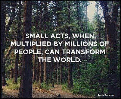 No kindness is too small