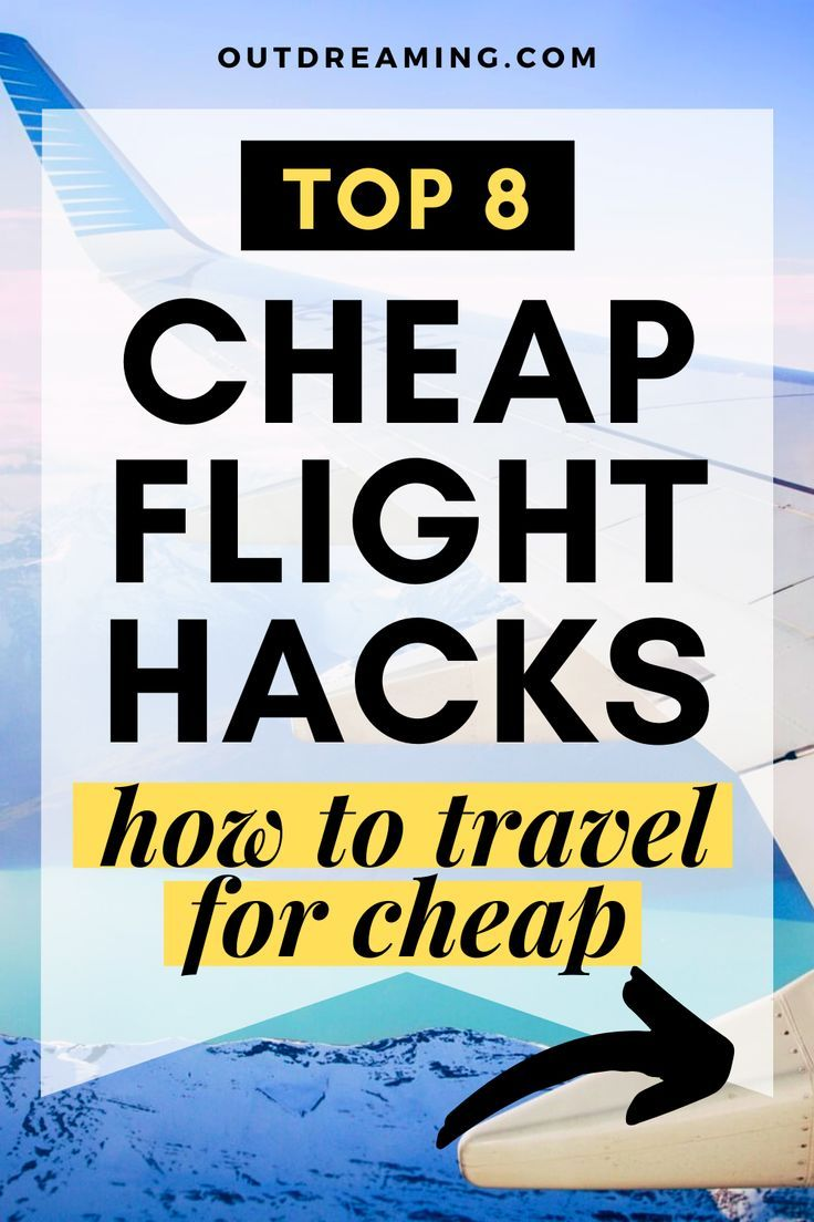 Photo of Top 8 Cheap Flight Hacks