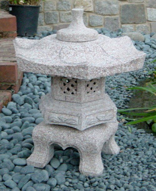 Charmant Japanese Garden Lanterns | Build A Japanese Garden   The Japanese Garden  Ornaments. Beautiful Curvy Base.