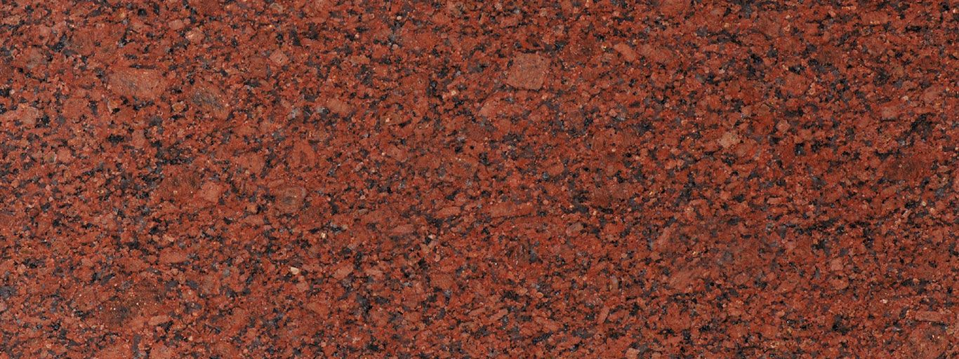 New Imperial Red Granite Is A Dark Red Granite With