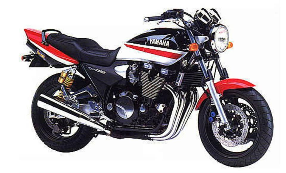 yamaha 1999 xjr1300sp black red white ama yamaha 1998. Black Bedroom Furniture Sets. Home Design Ideas