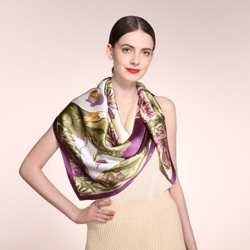 Top Grade Luxury 100 Silk Scarves Wholesale Scarf Print Women S Satin Scarf Us 39 00 Wholesale Scarves Silk Gifts Scarf Print