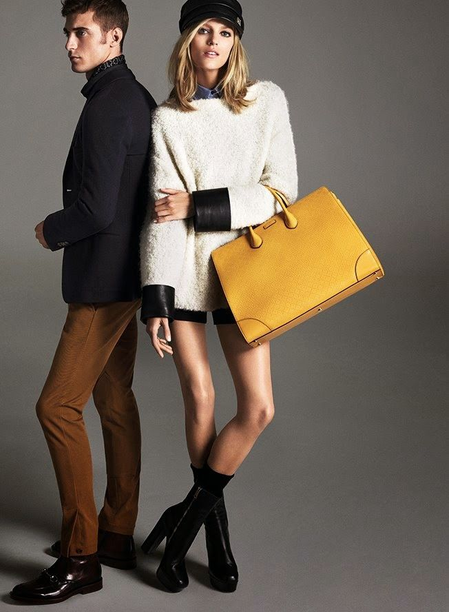 Ad Campaign: Gucci Pre-Fall 2014 Collection Featuring Anja Rubik