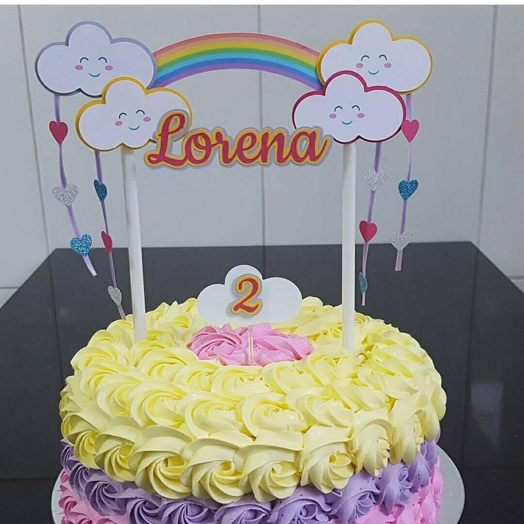 Cake Topper Lindo Que Fizemos Para Um Bolo Mais Lindo Ainda Das