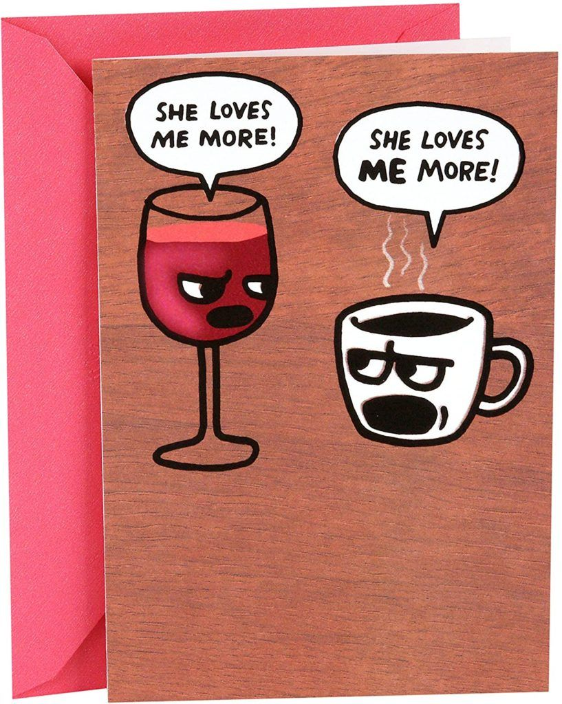 10 Coffee Greeting Cards To Stay Connected With Friends And Family Coffeesphere In 2020 Wine Birthday Cards Funny Birthday Cards Birthday Card Sayings